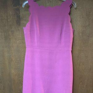 LOFT pink spring dress